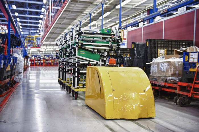 Agv Systems Deliver On Productivity Improvements With Help