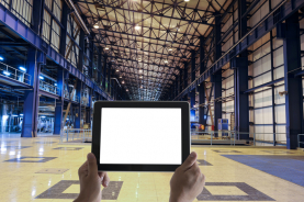 Tablet in factory picture